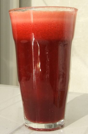 Beetroot, Carrot and Ginger Elixir