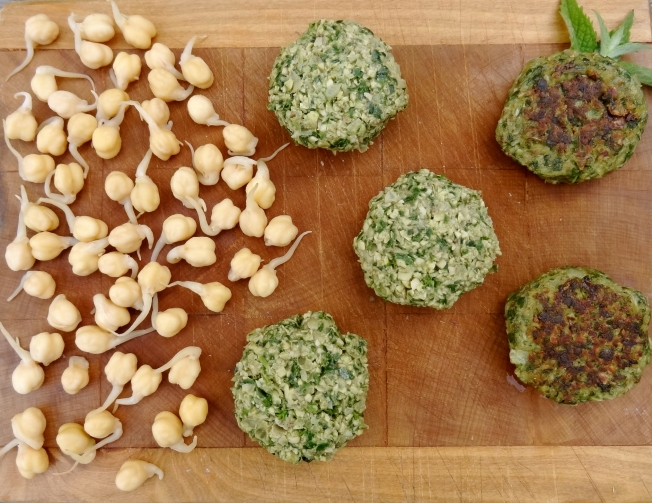 Sprouted Felafel