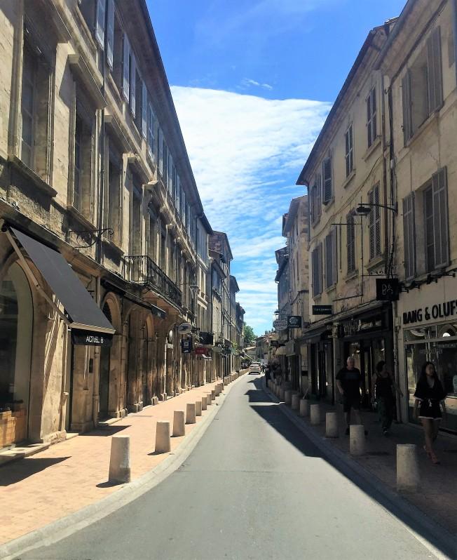 The Streets of Avignon